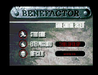 Screenshot Thumbnail / Media File 1 for Benefactor (1994)(Psygnosis)[!]